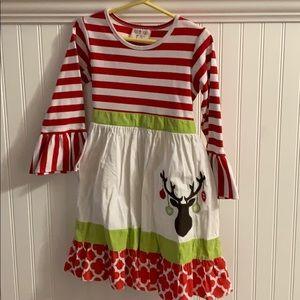 Southern Tot size 7 Christmas dress